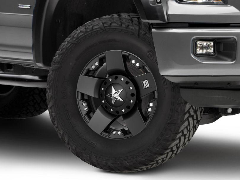 Rockstar XD775 Matte Black 6-Lug Wheel - 17x9; -12mm Offset (15-19 F-150)