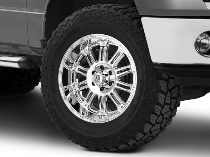 XD Hoss Chrome 6-Lug Wheel - 20x9; -12mm Offset (09-14 F-150)