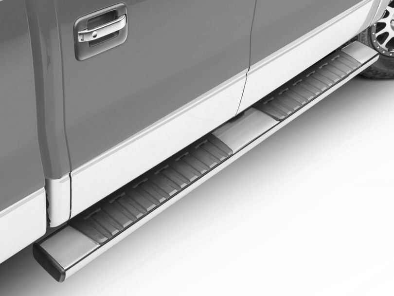 R7 Running Boards - Stainless Steel (04-14 F-150 SuperCab; 09-14 F-150 SuperCrew)