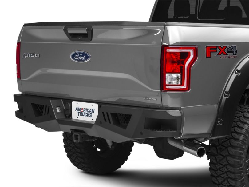 Barricade Extreme HD Rear Bumper for Factory Hitches (15-19 F-150, Excluding Raptor)