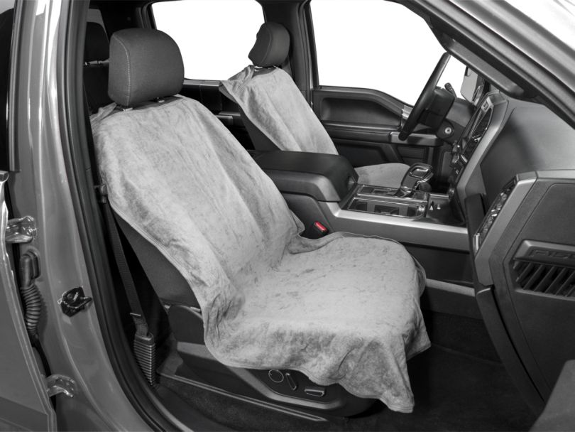 Seat Protector; Gray (97-20 F-150)
