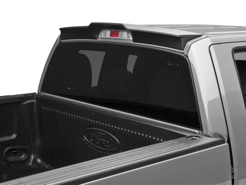 MMD Pre-Painted Rear Truck Cab Spoiler - Matte Black (09-14 F-150, Excluding Raptor)