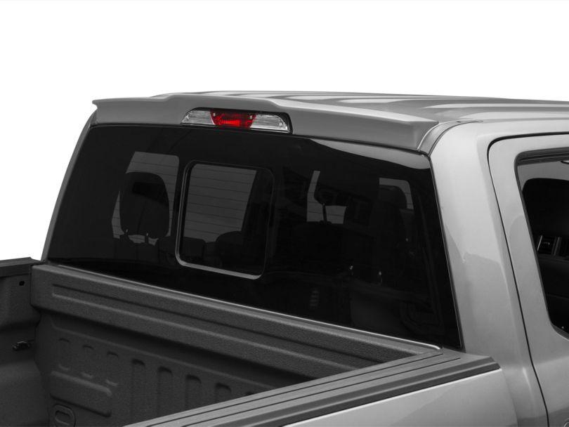 SpeedForm Rear Truck Cab Spoiler; Pre-Painted (15-20 F-150)