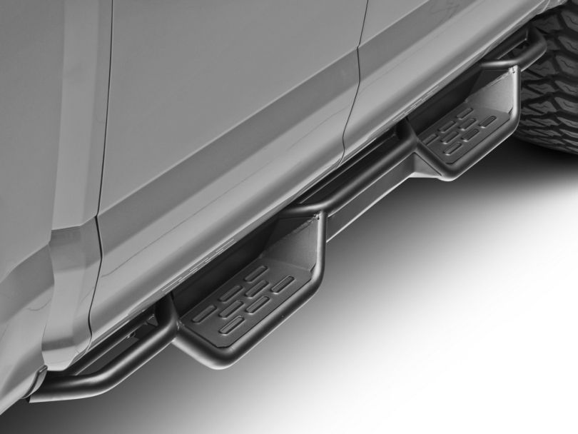Barricade HD Drop Side Step Bars (15-20 F-150 SuperCab, SuperCrew)