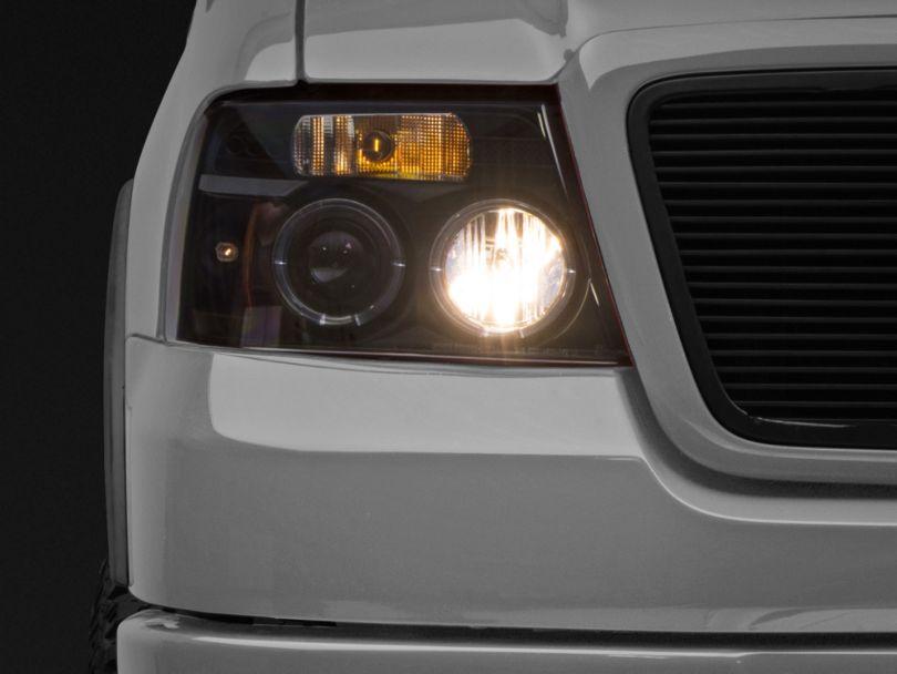 Axial Black Projector Headlights (04-08 F-150)