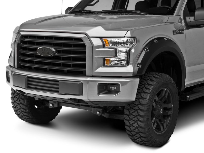 Ford Oval Grille Emblem - Matte Blackout (15-20 F-150, Excluding Raptor)