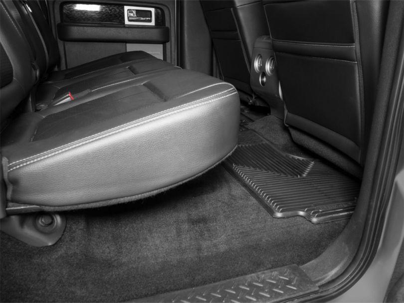 Husky Heavy Duty 2nd Seat Floor Mats - Black (97-10 F-150 SuperCab, SuperCrew)