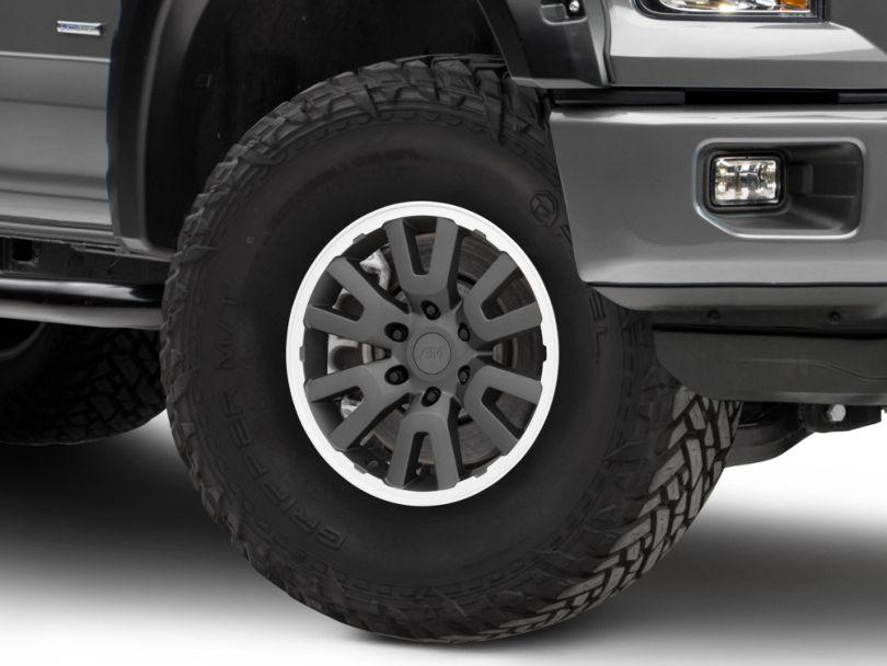 Gen1 Raptor Style Charcoal 6-Lug Wheel - 17x8.5; 34mm Offset (15-19 F-150)