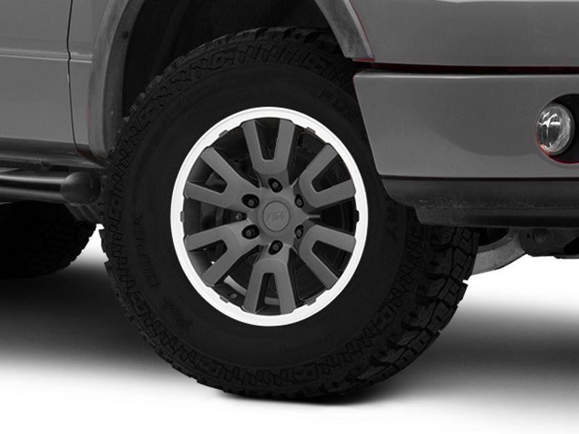 Gen1 Raptor Style Charcoal 6-Lug Wheel; 17x8.5; 34mm Offset (04-08 F-150)