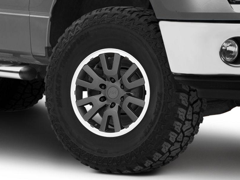 Gen1 Raptor Style Charcoal 6-Lug Wheel - 17x8.5; 34mm Offset (09-14 F-150)