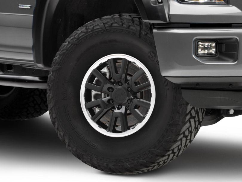Gen1 Raptor Style Black 6-Lug Wheel - 17x8.5; 34mm Offset (15-19 F-150)