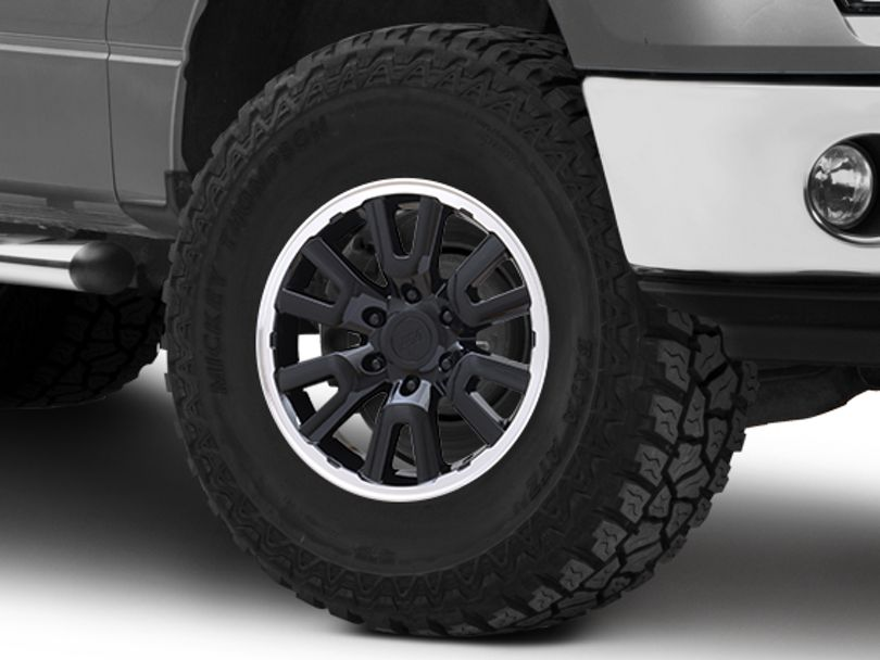 Gen1 Raptor Style Black 6-Lug Wheel - 17x8.5; 34mm Offset (09-14 F-150)