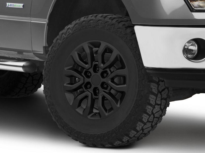 Gen2 Raptor Style Matte Black 6-Lug Wheel; 17x8.5; 34mm Offset (09-14 F-150)