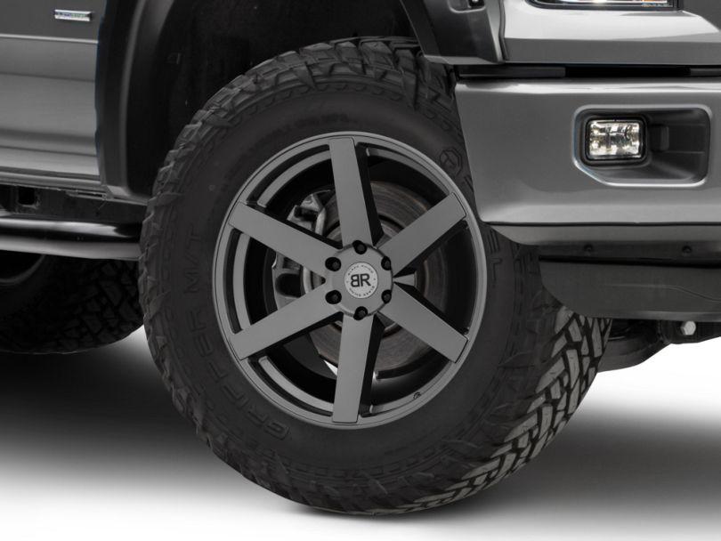 Black Rhino Karoo Gloss Gunmetal 6-Lug Wheel - 22x10; 30mm Offset (15-20 F-150)