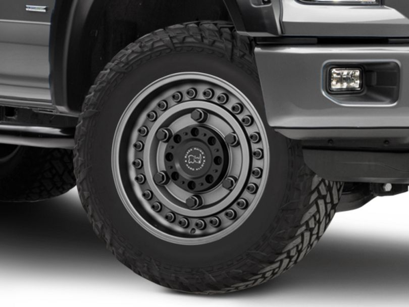 Black Rhino Armory Gunblack 6-Lug Wheel; 20x9.5; 6mm Offset (15-20 F-150)