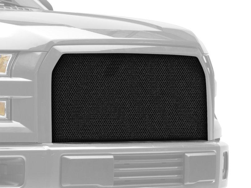 Modern Billet Wire Mesh Upper Grille Insert - Black (15-17 F-150, Excluding Raptor)