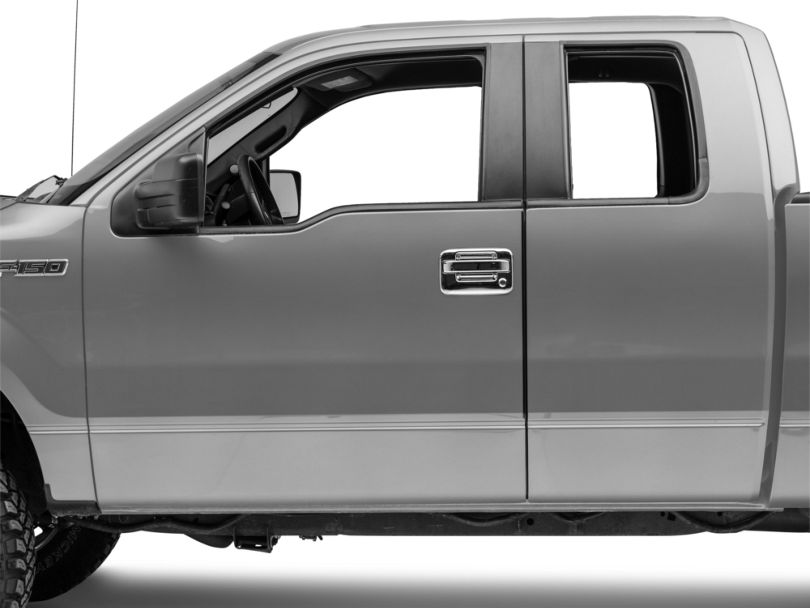 Door Handle Covers; Chrome (04-14 F-150 SuperCrew)