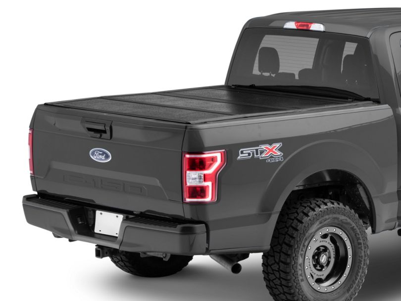 UnderCover Flex Tri-Fold Tonneau Cover - Black Textured (15-20 F-150 w/ 5.5 ft. & 6.5 ft. Bed)