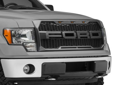 Proven Ground Upper Replacement Grille w/ FORD Lettering & LED Lighting (09-14 F-150, Excluding Raptor)