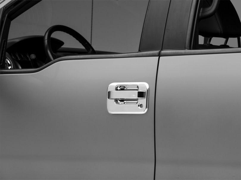 Door Handle Covers; Chrome (04-14 F-150)