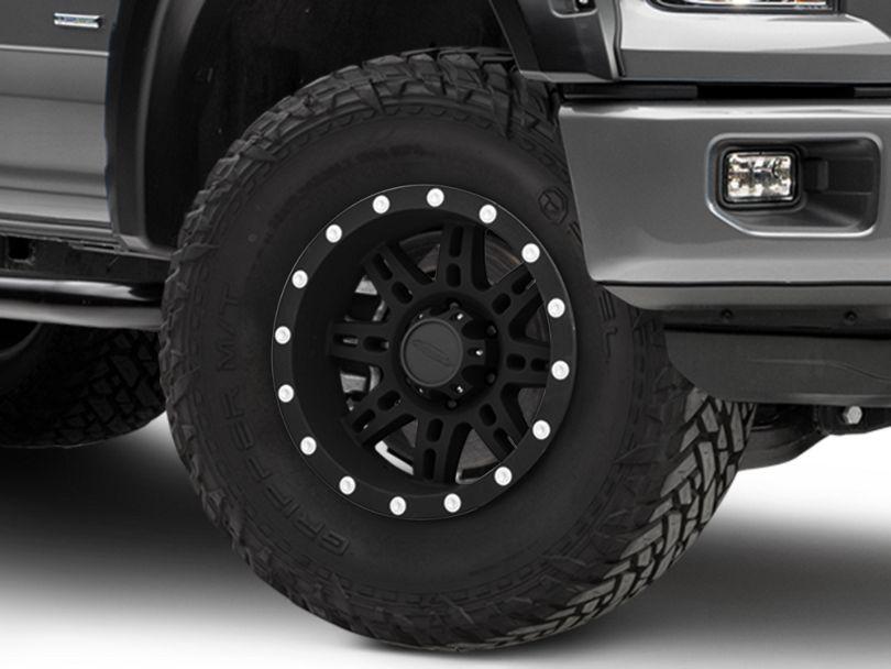 Pro Comp Wheels 31 Series Matte Black 6-Lug Wheel; 17x9; -6mm Offset (15-20 F-150)