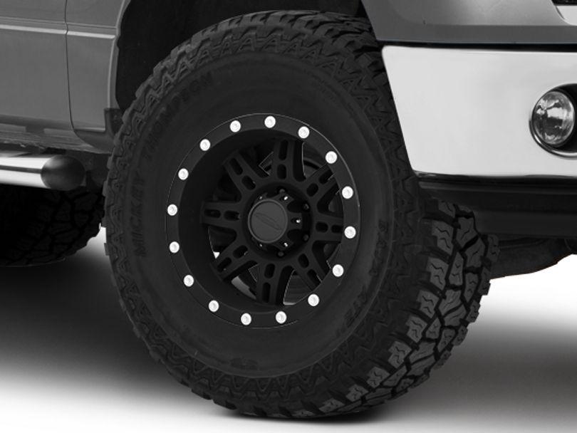 Pro Comp Wheels 31 Series Matte Black 6-Lug Wheel; 17x9; -6mm Offset (09-14 F-150)