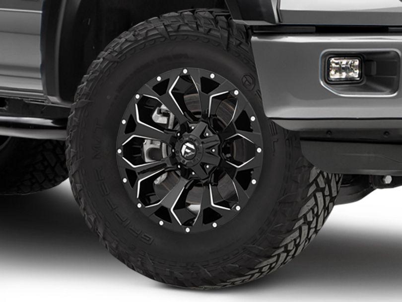 Fuel Wheels Assault Gloss Black 6-Lug Wheel - 20x9 (15-20 F-150)