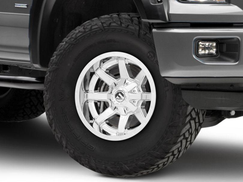 Fuel Wheels Maverick Chrome 6-Lug Wheel - 17x10; -24mm Offset (04-19 F-150)