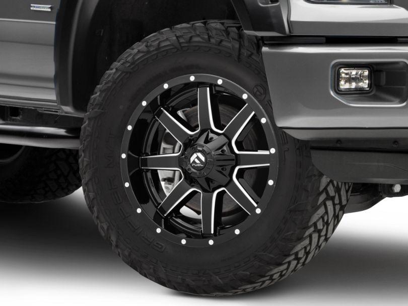 Fuel Wheels Maverick Gloss Black Milled 6-Lug Wheel - 20x9 (15-19 F-150)