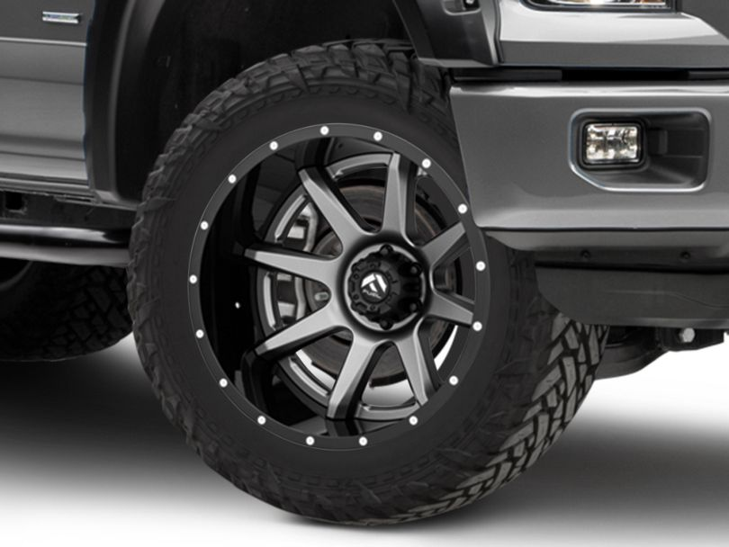 Fuel Wheels Rampage Gun Metal 6-Lug Wheel - 22x12; -44mm Offset (15-19 F-150)