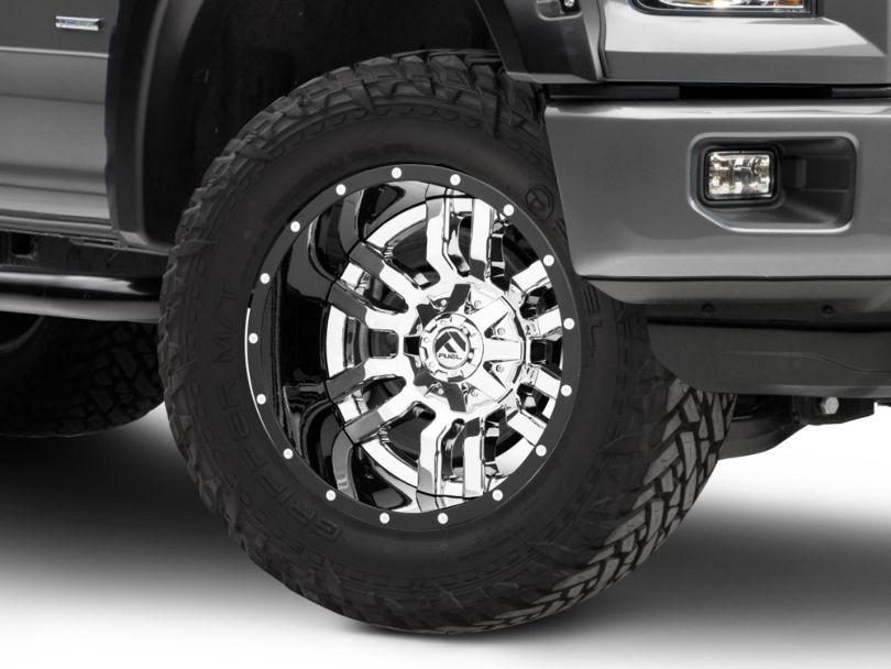 Fuel Wheels Sledge Chrome 6-Lug Wheel; 20x12; -43mm Offset (15-20 F-150)