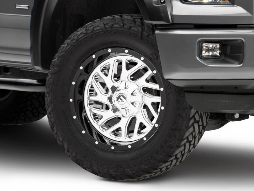 Fuel Wheels Triton Chrome 6-Lug Wheel - 20x10; -19mm Offset (15-20 F-150)