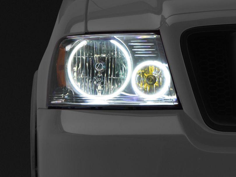 Oracle Chrome OE Style Headlights w/ Plasma Halos (04-08 F-150)