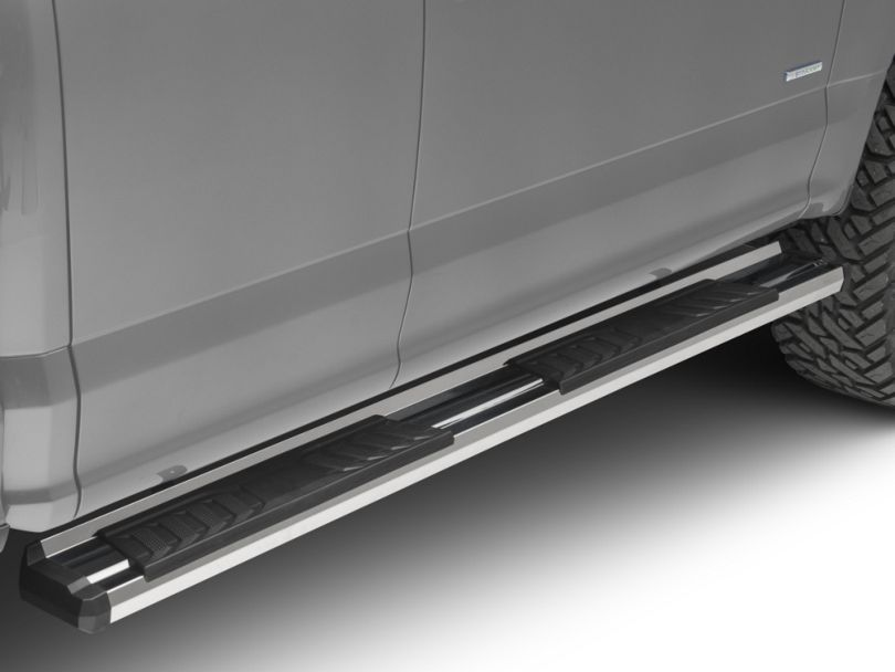 Duratrek S6 Running Boards - Stainless Steel (15-20 F-150 SuperCab)