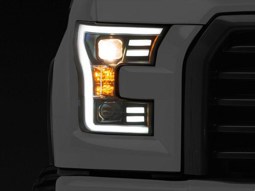 Raxiom Black Projector Headlights (15-17 F-150 w/ Halogen Headlights)