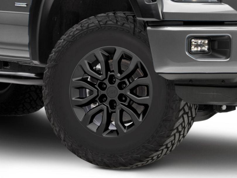 Gen2 Raptor Style Matte Black 6-Lug Wheel - 18x9; 34mm Offset (15-19 F-150)