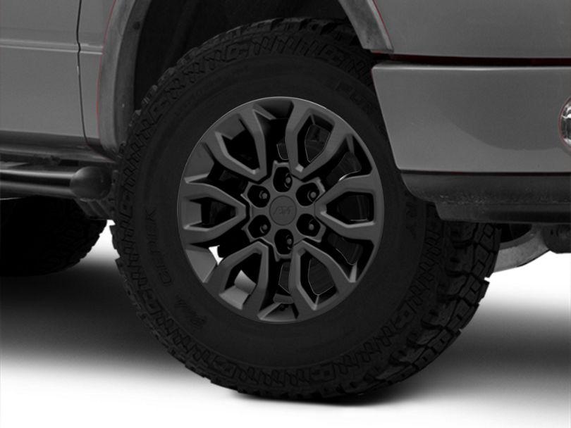 Gen2 Raptor Style Matte Black 6-Lug Wheel - 18x9; 34mm Offset (04-08 F-150)