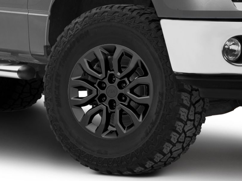 Gen2 Raptor Style Matte Black 6-Lug Wheel - 18x9; 34mm Offset (09-14 F-150)