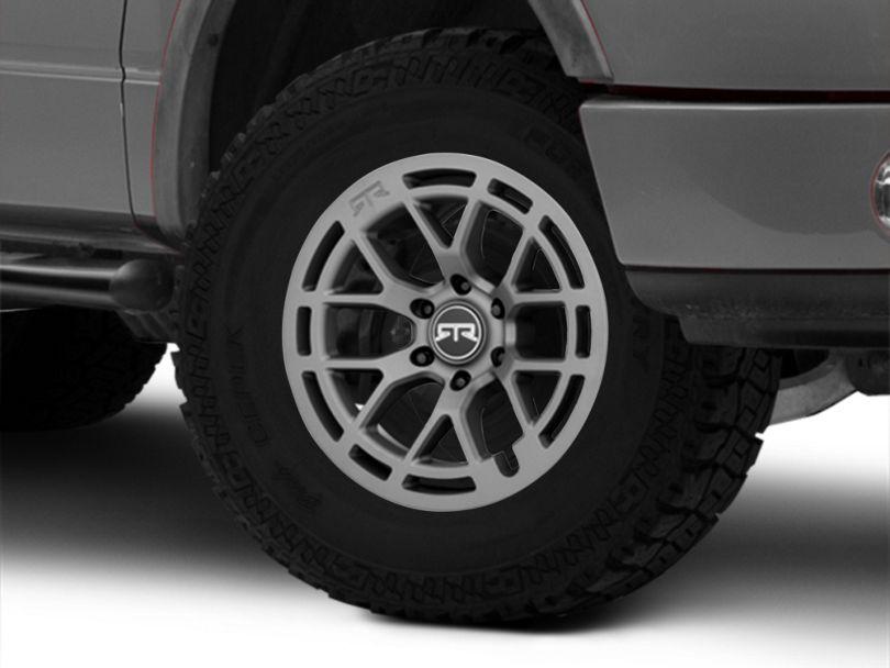 RTR Tech 6 Satin Charcoal 6-Lug Wheel - 18x9; 18mm Offset (04-08 F-150)