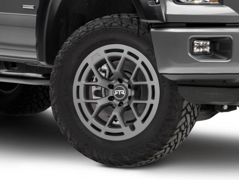 RTR Tech 6 Satin Charcoal 6-Lug Wheel; 20x9 (15-20 F-150)