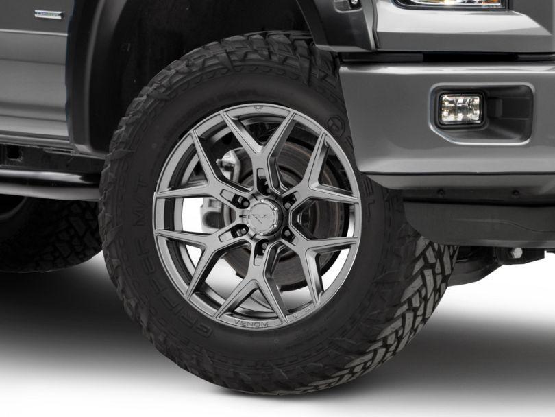 Venom Rex VR-601 Carbon Graphite 6-Lug Wheel; 20x9; 12mm Offset (15-20 F-150)