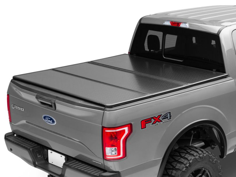 Rough Country Hard Tri-Fold Tonneau Bed Cover (15-19 F-150 w/ 5.5 ft. & 6.5 ft. Bed)