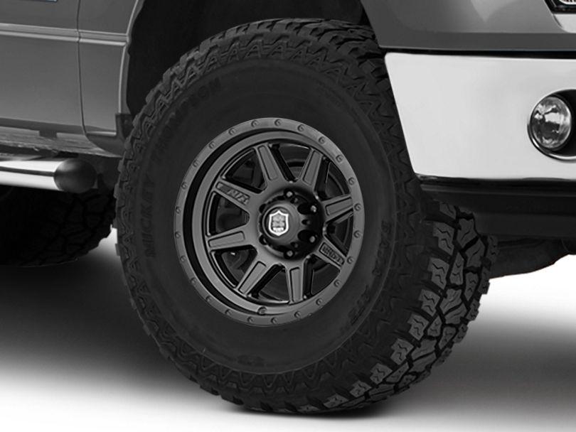 Mickey Thompson Deegan 38 Pro 2 Black 6-Lug Wheel; 17x9 (09-14 F-150)
