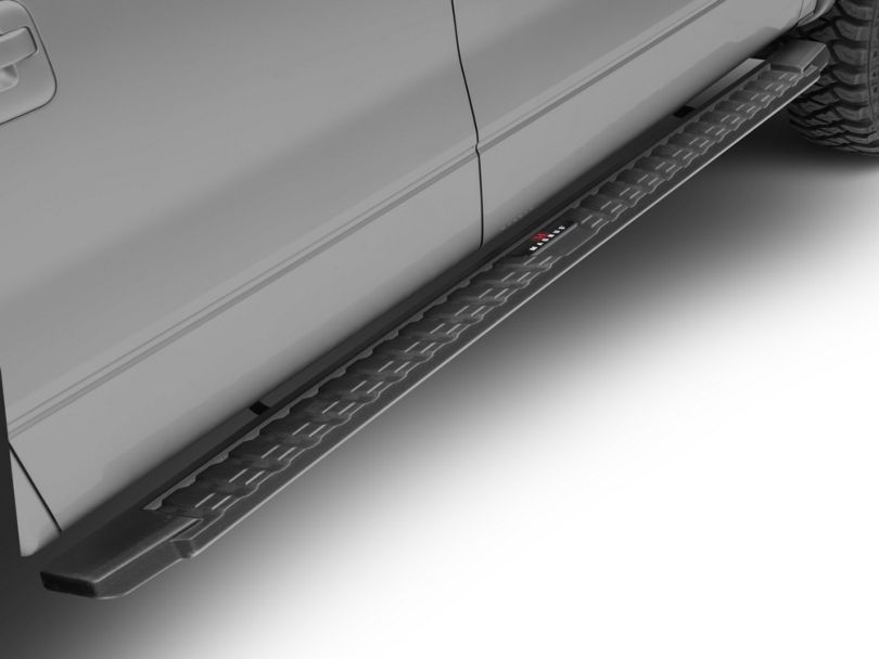 T-Style Running Boards; Black (09-14 F-150 SuperCrew)