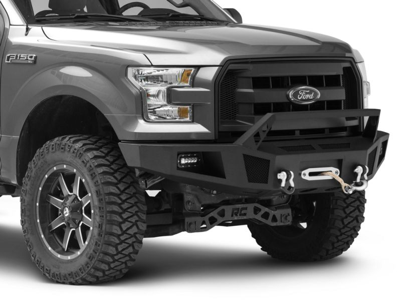 Barricade HD Winch Front Bumper w/ LED Lighting (15-17 F-150, Excluding EcoBoost & Raptor)