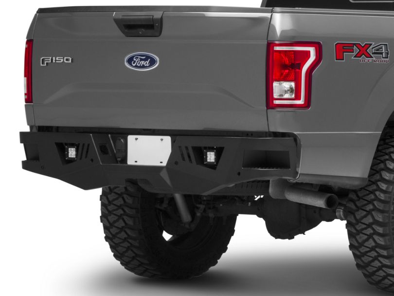 Barricade Extreme HD Rear Bumper w/ LED Fog Lights for Factory Hitches (15-20 F-150, Excluding Raptor)