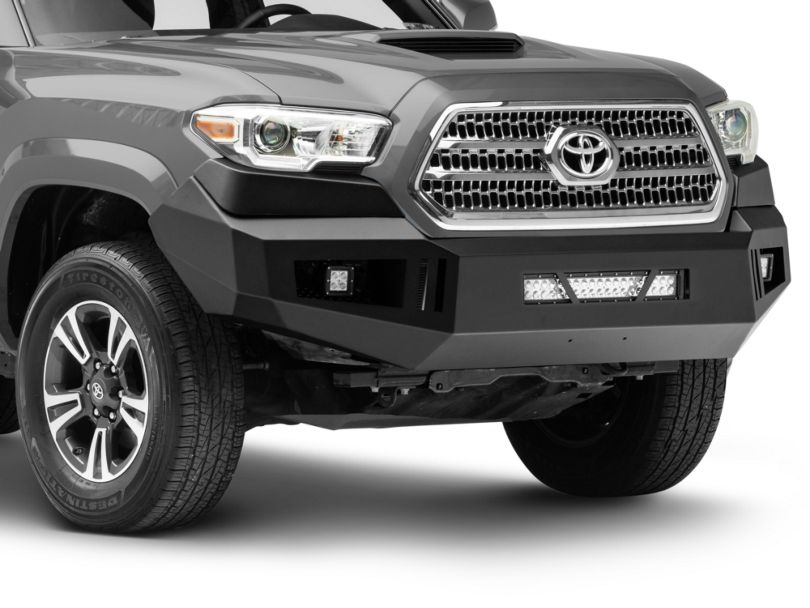 Barricade HD Front Bumper with LED Fog Lights and 20-Inch Dual Row LED Light Bar (16-20 Tacoma)