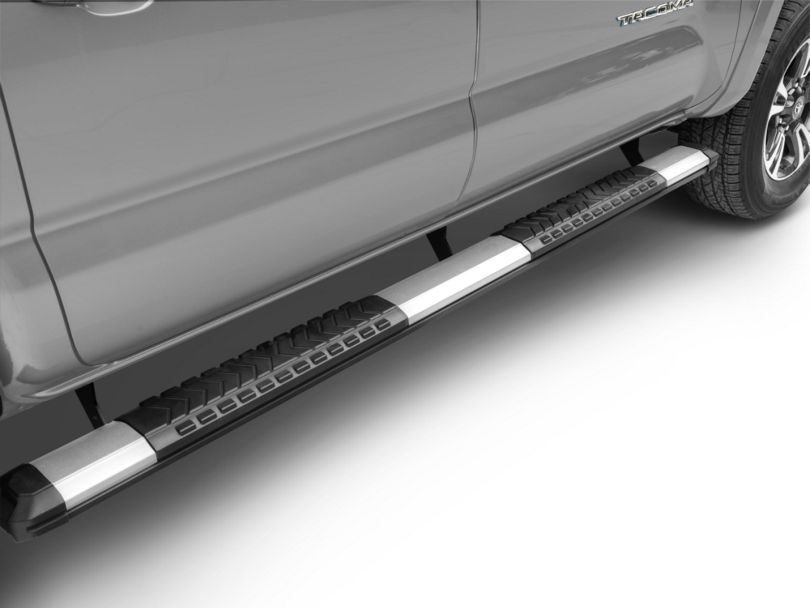 RedRock 4x4 5 in. Aluminum Side Step Bars (05-20 Tacoma Double Cab)