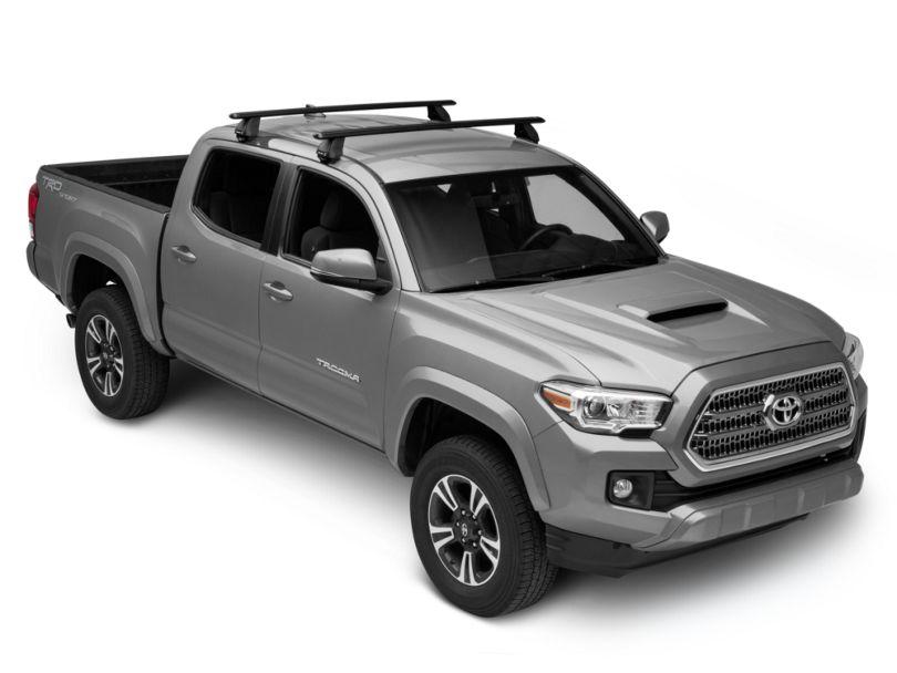 Rhino-Rack Vortex 2500 2-Bar Roof Rack - Black (05-20 Tacoma Double Cab)