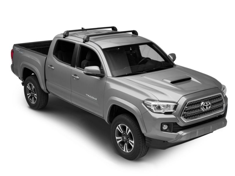 Rhino-Rack Vortex 2500 RS 2-Bar Roof Rack - Black (05-19 Tacoma Double Cab)